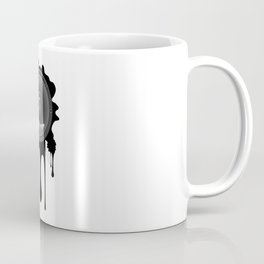 Grunge sound loudspeaker Coffee Mug