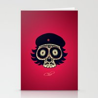 che Stationery Cards featuring Che by mangulica