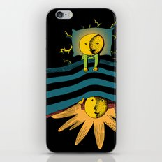 Time In Bed iPhone & iPod Skin