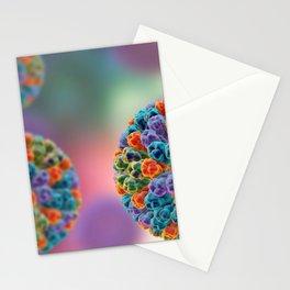 """ROTAVIRUS PARTICLE "" MICROSCOPIC VIRUS Image PHOTO...Micro Stationery Cards"