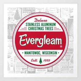 Evergleam Seal Art Print