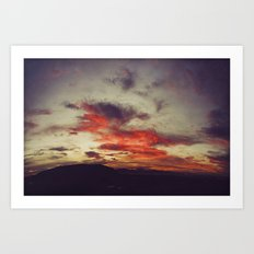Supersaturated Dawn Art Print