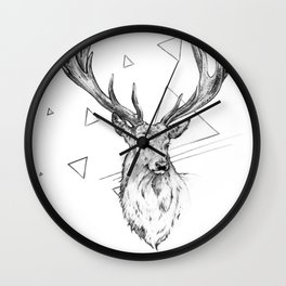 Frankly Deer Wall Clock