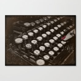 Type-Oh Canvas Print