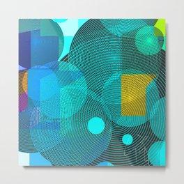 superposition Metal Print
