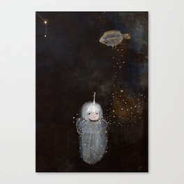 Lenguado Dreams I Canvas Print