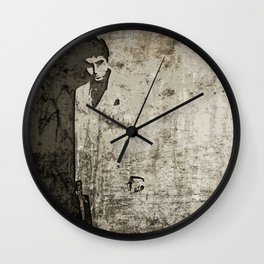 Scarface Wall Clock