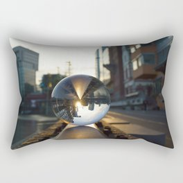 The World from another Perspective Rectangular Pillow