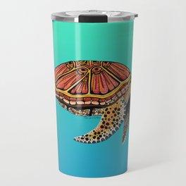 Sea Turtle Totem Travel Mug