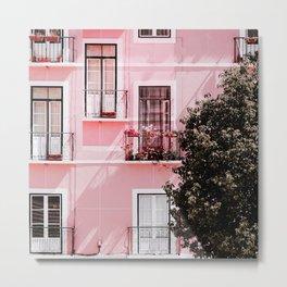 Pink Portals Metal Print