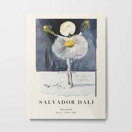 Poster-Salvador Dali-Ballerina. Metal Print