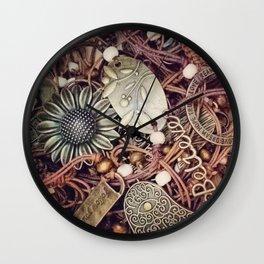 Boho jewellery Wall Clock