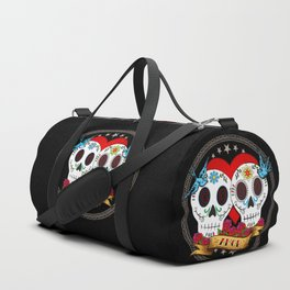 Love Skulls Duffle Bag