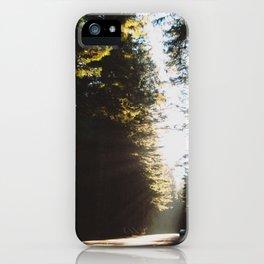 In Redwoods iPhone Case
