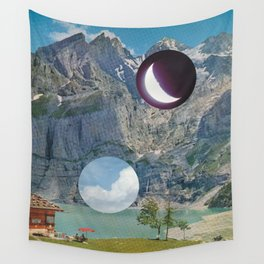 Day and Night Wall Tapestry