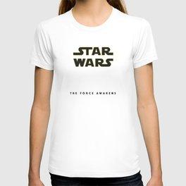 The Force Awakens, Vintage Poster, tar wars, vintage movie poster T-shirt