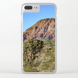 Cedar Pocket, Virgin River Gorge, AZ Clear iPhone Case