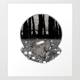 Growth  and Decay Art Print