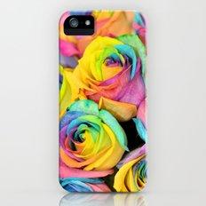 Rainbowlicious iPhone (5, 5s) Slim Case