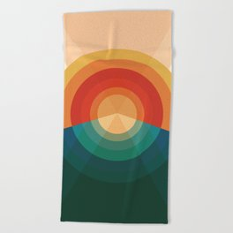 Sonar Beach Towel
