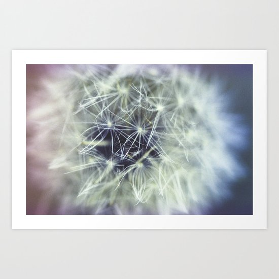 Ghostly Center Art Print