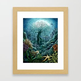 Undersea Witness Framed Art Print