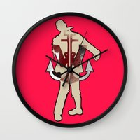 dragonball z Wall Clocks featuring Z. by Jayme Javier