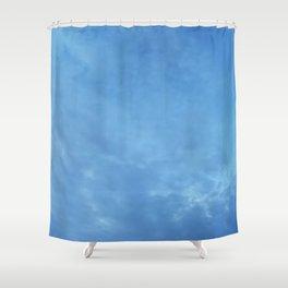 Big Blue Shower Curtain