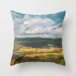 Route 52 Views Throw Pillow