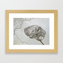 SF on the Mind Framed Art Print