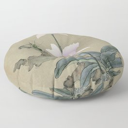 Orchid and Mantis Floor Pillow