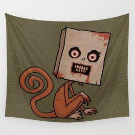 Psycho Sack Monkey Wall Tapestry