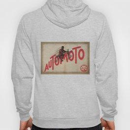 1931 Vintage Art Deco 3 Advertising Poster Automoto Motos Bicycles Motorcycles  Hoody