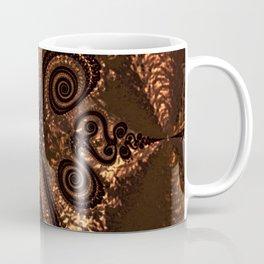 Textured Hammered Copper Coffee Mug