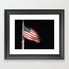 Long may it wave Framed Art Print