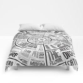 San Francisco Type Wheel Comforters