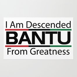 RBG/Pan-African Bantu Descended Rug