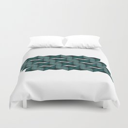 Land of Confusion 1 Duvet Cover