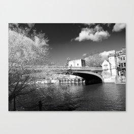 York City river landscape Canvas Print