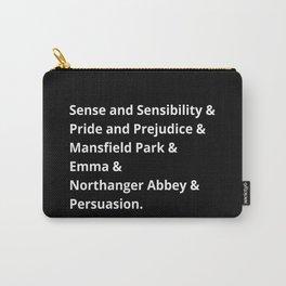The Jane Austen's Novels II Carry-All Pouch
