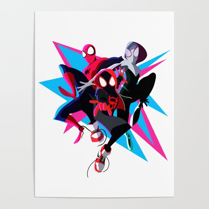 Spider-Man: Into The Spider-Verse Minimalist Poster