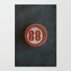 Eighty Eight Canvas Print
