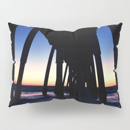 Hermosa Beach Pier Sunset Oct Pillow Sham