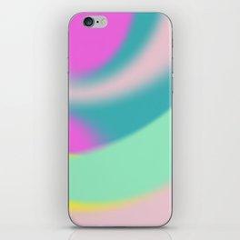 fluffy colour taste iPhone Skin