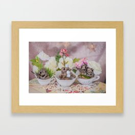 Tea Timers Framed Art Print