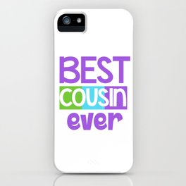 Family Tree Kinship Ancestry Household Love Bloodline Ancestors Best Cousin Ever Gift iPhone Case
