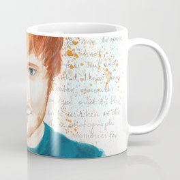 Watercolor Ed Coffee Mug