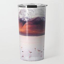 Bolivian Flamingos Travel Mug