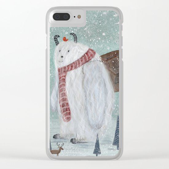 happy trails Clear iPhone Case