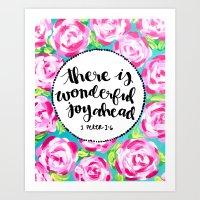 Wonderful Joy Art Print